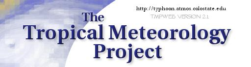 Tropical Meteorology Project